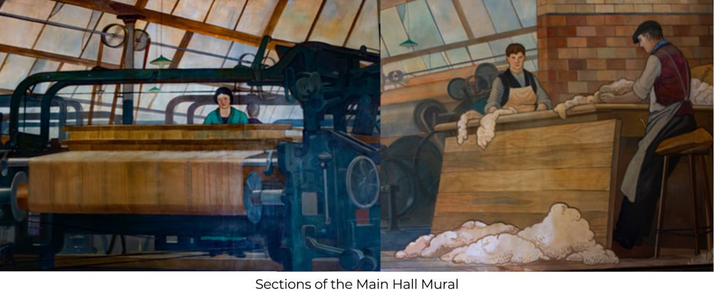 Lucy Sanderson Hall Mural 1